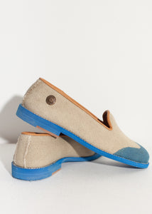 Wingtip Loafer in Blue