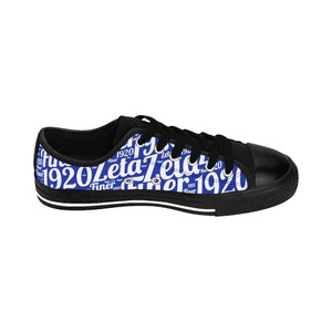 Zeta Low Top Canvas Shoes