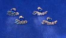 Sapphire Finer Zeta Stud Earrings