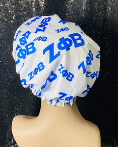 Zeta Phi Beta Shower Cap