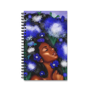 Queen Blossom Spiral Journal