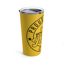 Golden Proud Mom Tumbler 20oz