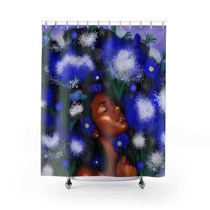 Queen Blossom Shower Curtain