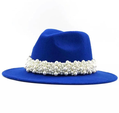 Pearls Galore Fedora
