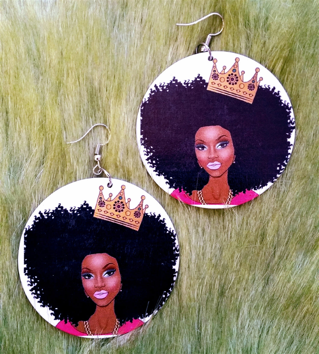 Crowned Queen Earrings