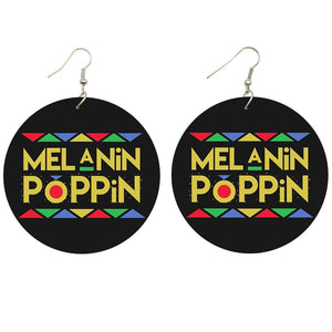 Melanin Poppin' Earrings