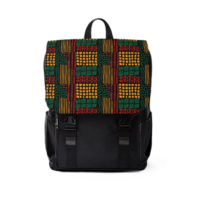 Lana Green Pattern Backpack