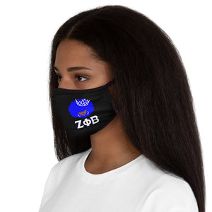 Crowned ZPhiB Fitted Polyester Face Mask