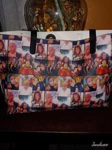 Custom Picture Tote Bag
