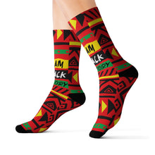 I Am Black History Socks