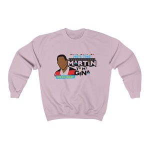 He's the Martin to my Gina Unisex Heavy Blend™ Crewneck Sweatshirt