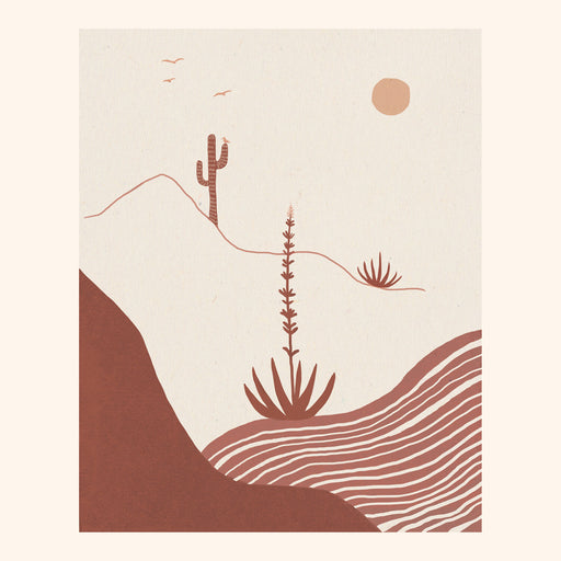 Desert Afternoon Print