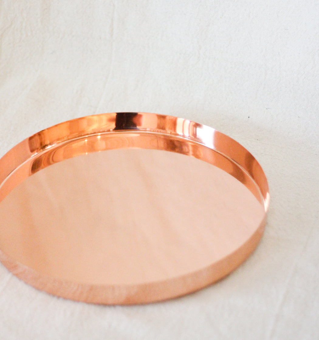 Louise Copper Tray - Medium