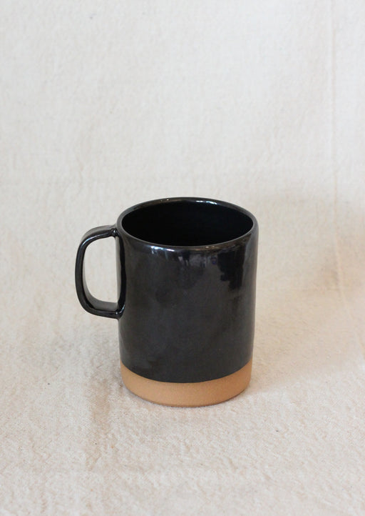 Cappuccino Mug - Metallic Black