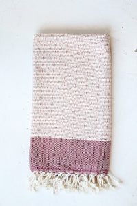 Chios Towel - Wine