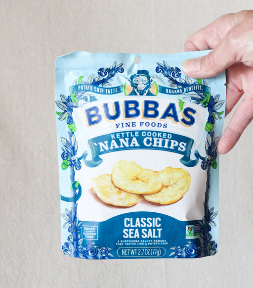 Classic Sea Salt Kettle Cooked Nana Chips