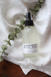 Sandalwood + White Musk Room/Linen Spray