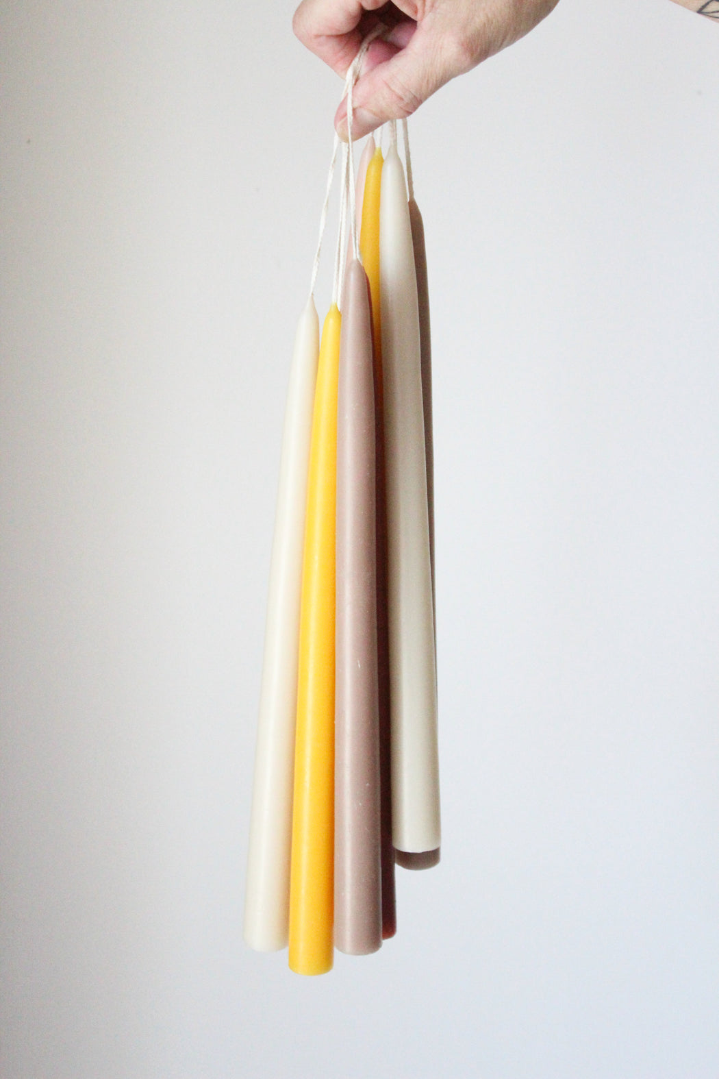 "12""  Assorted Taper Candles"