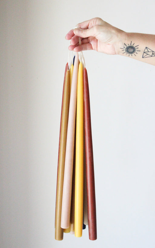 "18"" Assorted Taper Candles"