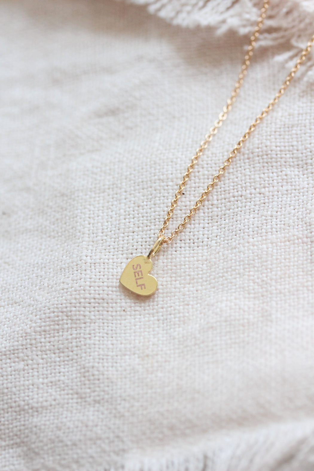 Tiny Heart Self Love Necklace