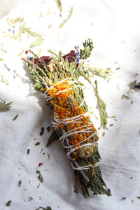Wild Flowers Smudge Stick
