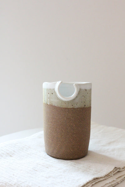 Mini Loop Vase - Speckle