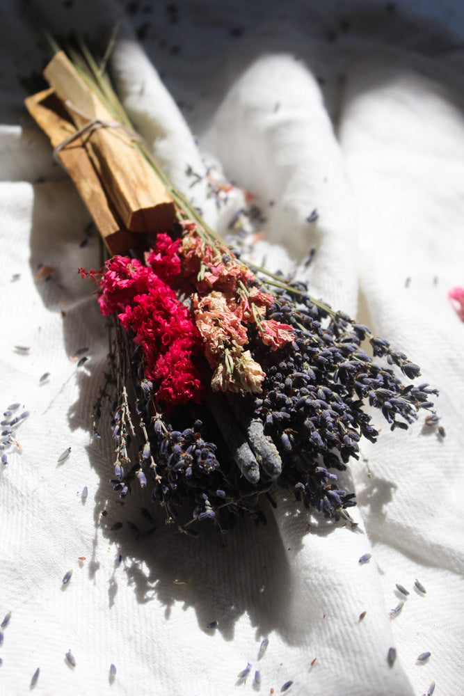 Lavender, Copal and Palo Santo Set
