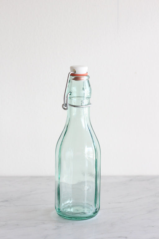 Faceted Hermetic Preserving Bottle
