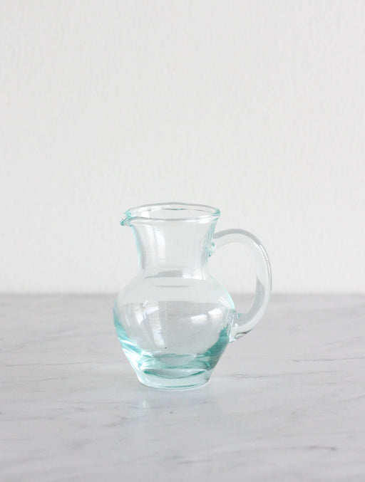 Recycled Glass Mini Pitcher