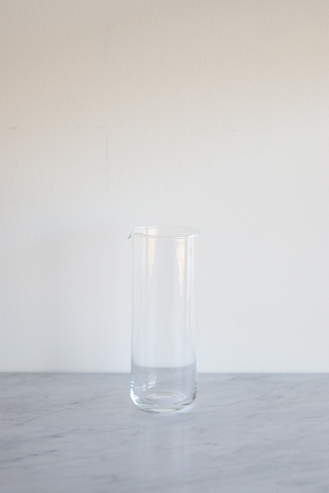 Simple Glassware Pitcher