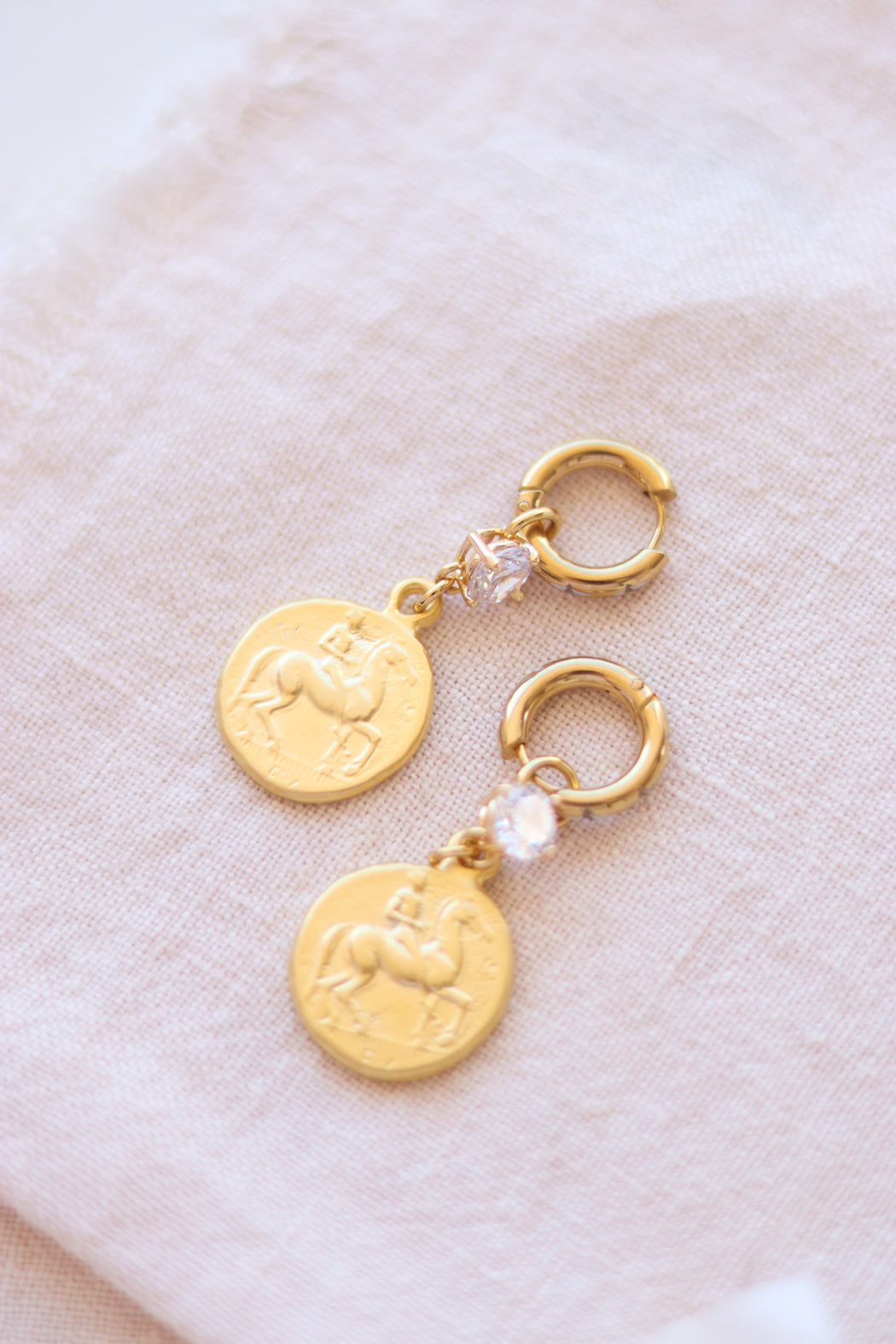 Trevi Coins Earrings