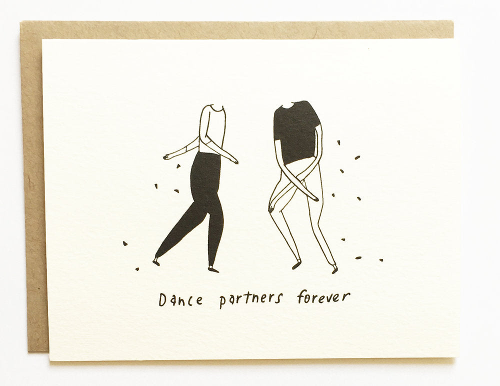 Dance Partners Card