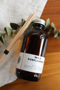 Wild Sunflower Reed Diffuser