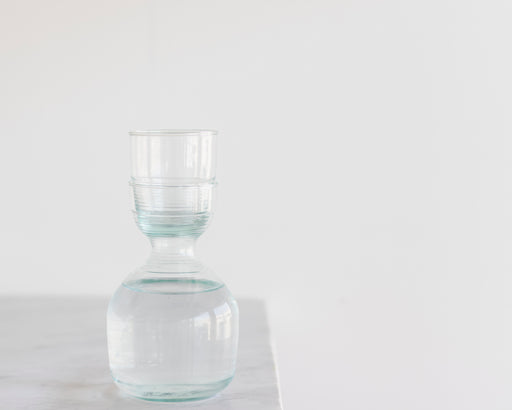 Recycled Glass & Carafe Set