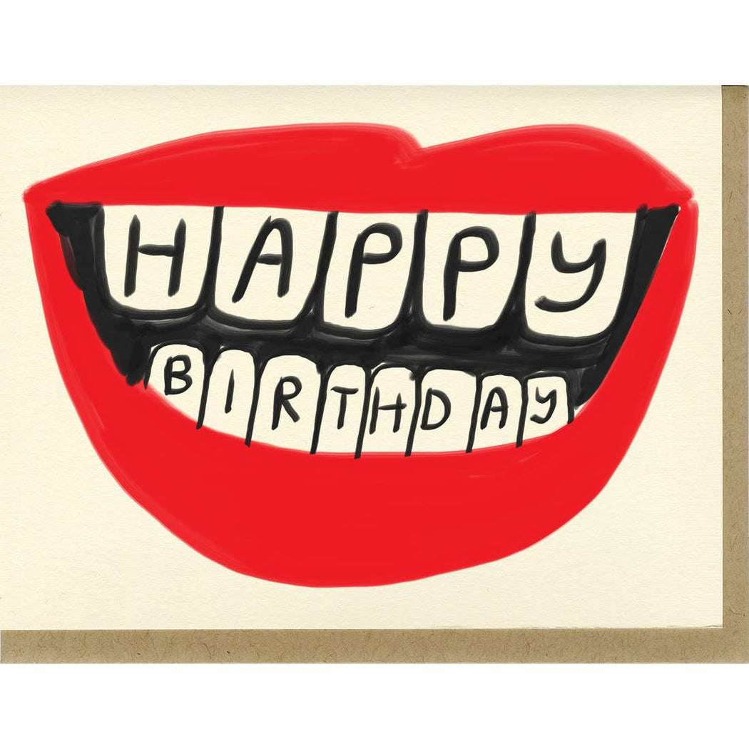 Birthday Lips Card