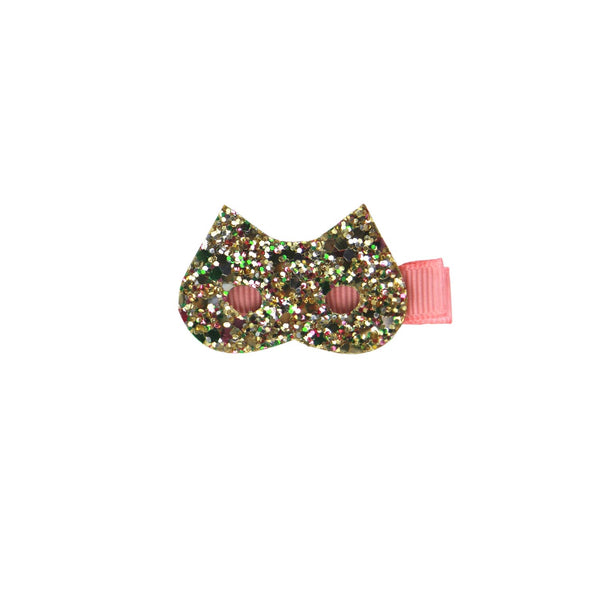GLITTER KITTY CAT CLIP
