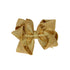 GOLDEN GROSGRAIN BOW