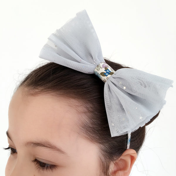 NET AND STAR SPARKLE HAIRBAND