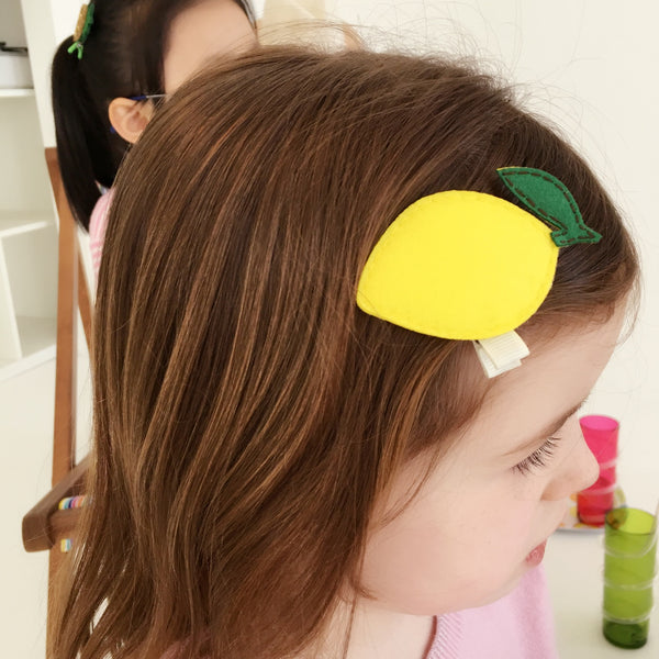 LEMON HAIRCLIP