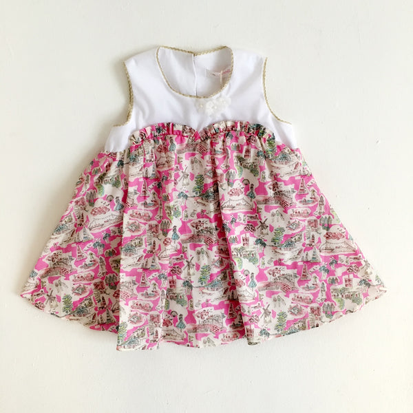LIBERTY ISLE OF WIGHT BABY SWING DRESS
