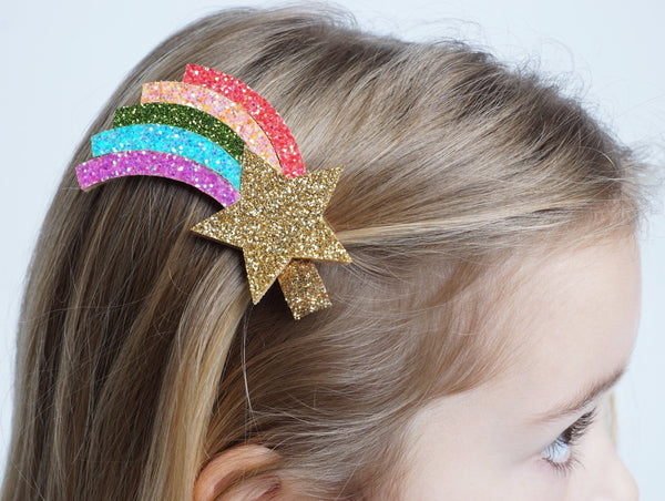 SHOOTING STAR HAIRCLIP