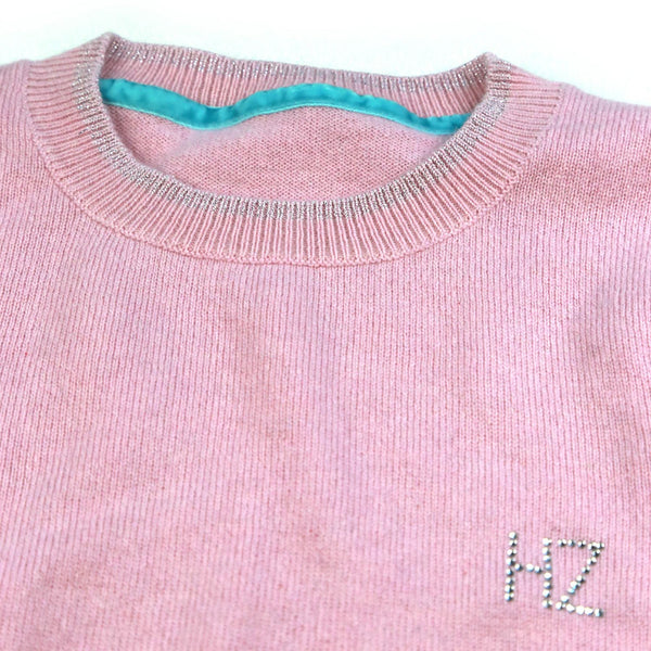CASHMERE PINK MULTI STRIPE JUMPER