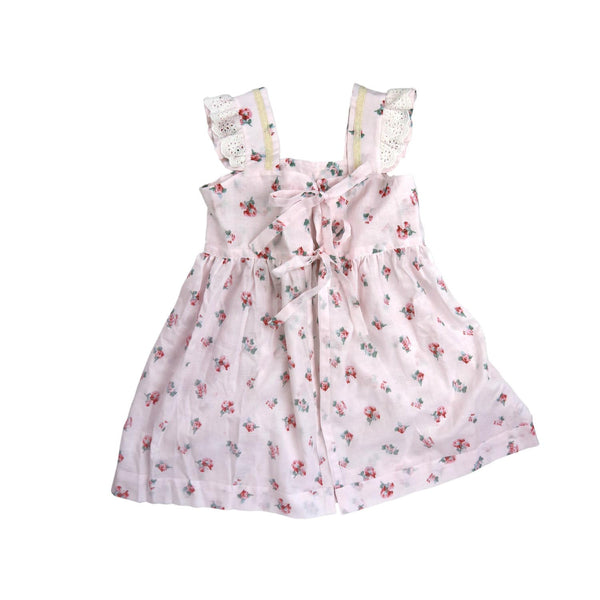 Sateen Cotton Print Coverall And Dress Up Set
