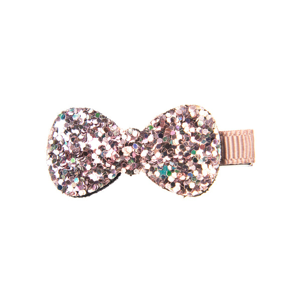 MULTI SPARKLY DOG BOW CLIP