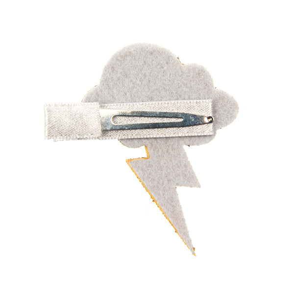 LIGHTNING CLOUD HAIRCLIP
