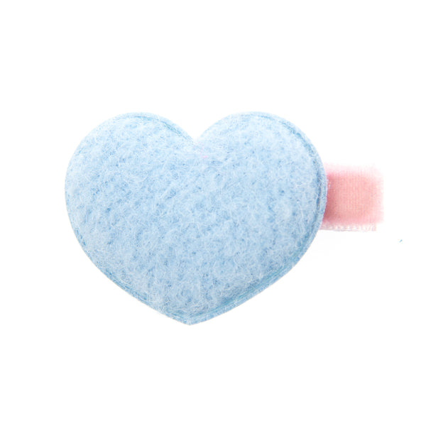 WOOLY HEART BABY HAIR CLIP