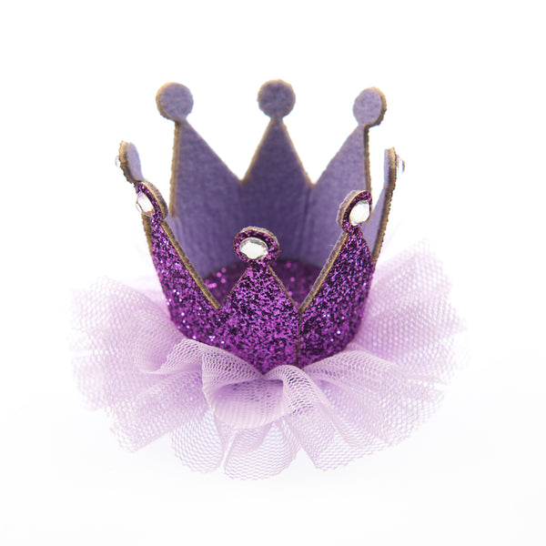 ALICE NET CROWN CLIP