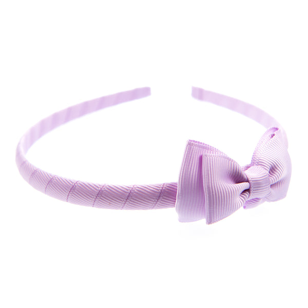 GROSGRAIN DOUBLE BOW HEADBAND