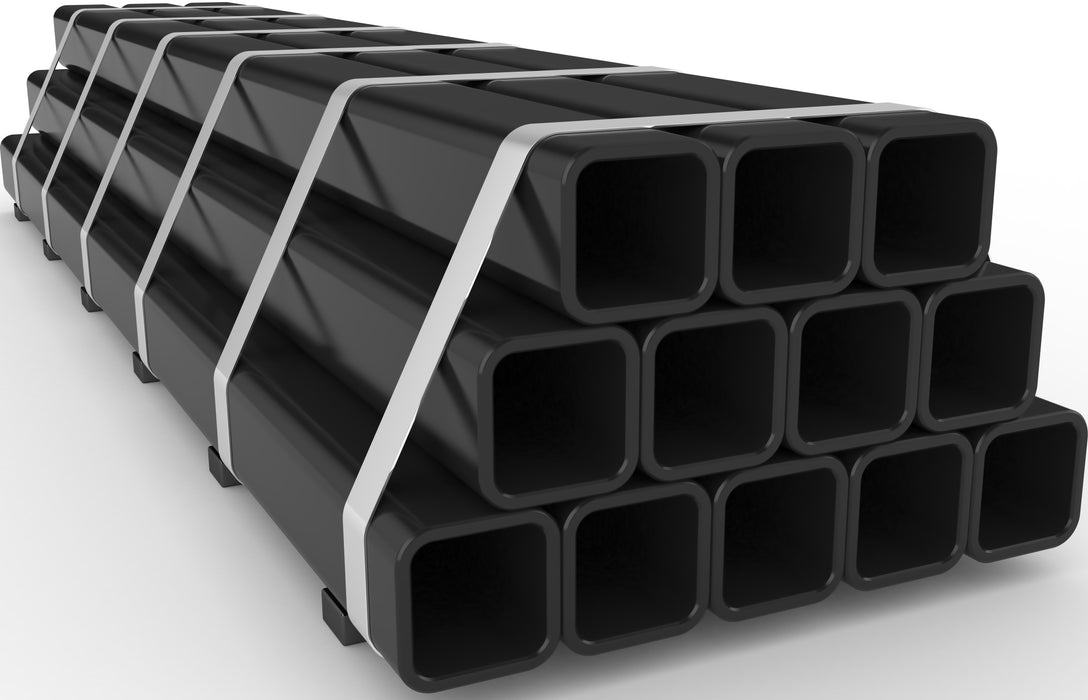 MS Square Tubing ,Width 100x100x Thickness 1.8x Length 5800 (MM) (30.75 KG/PCS) VINA One (00114)/30.75