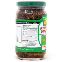 AMK Bitter Gourd with Sprats 200g Nutrition